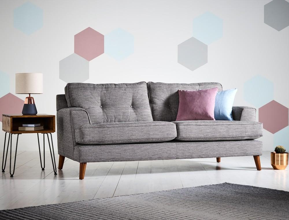Enorm Bella Large Corner Sofa Right Hand Facing ES-95