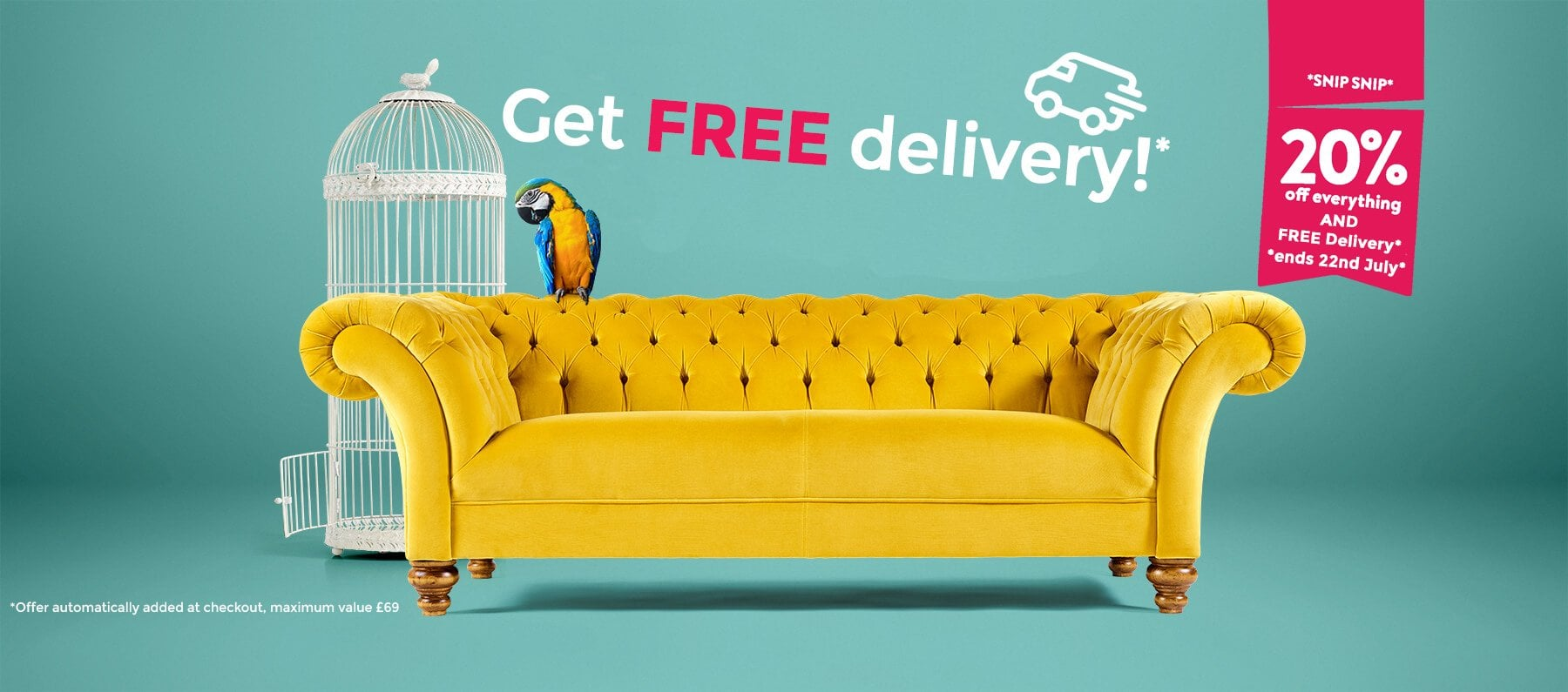 PLUS FREE Delivery